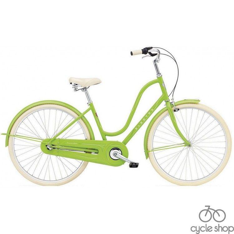 "Велосипед 28"" ELECTRA Amsterdam Original 3i Al Ladie's Spring Green"