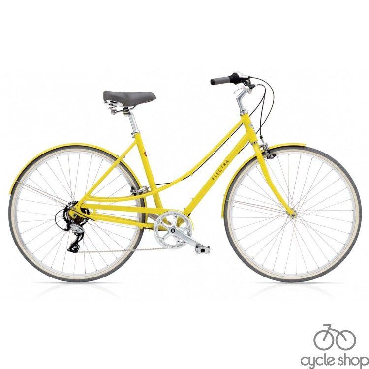 """Велосипед 28"""" ELECTRA Loft 7D Ladie's Citrine"""