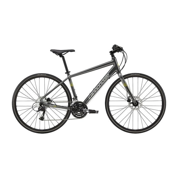 "Велосипед 28"" Cannondale Quick Disc 5 2019 Charcoal Grey"
