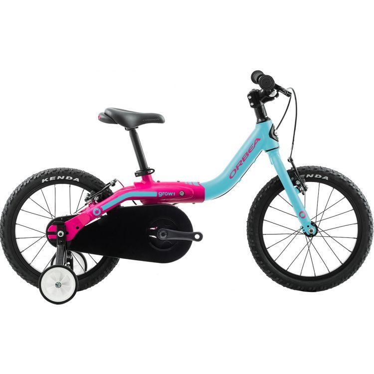 """Велосипед 16"""" Orbea Grow 1 2019 Blue Pink"""