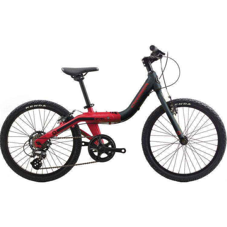 "Велосипед 20"" Orbea Grow 2 1V 2019 Black Red"