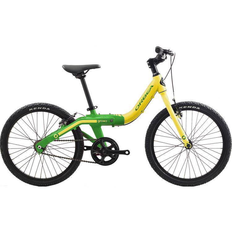"""Велосипед 20"""" Orbea Grow 2 7V 2019 Pistachio Green"""