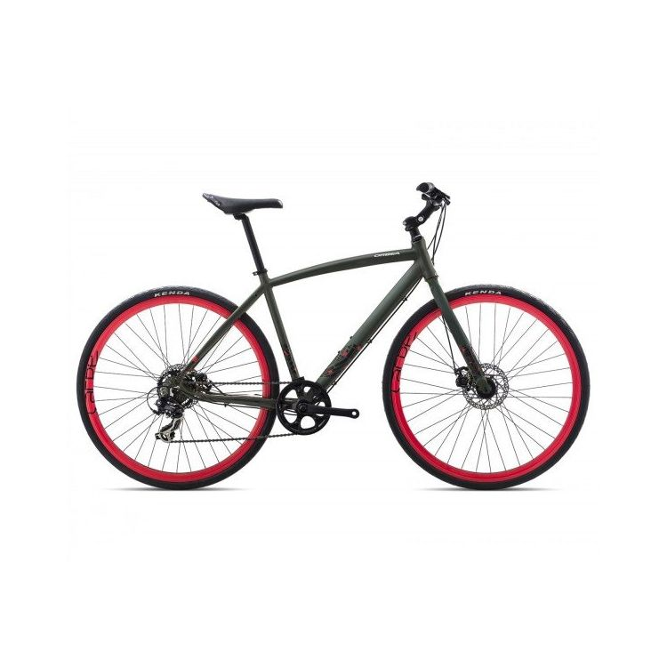 "Велосипед 28"" Orbea Carpe 40 2017 Green Red"