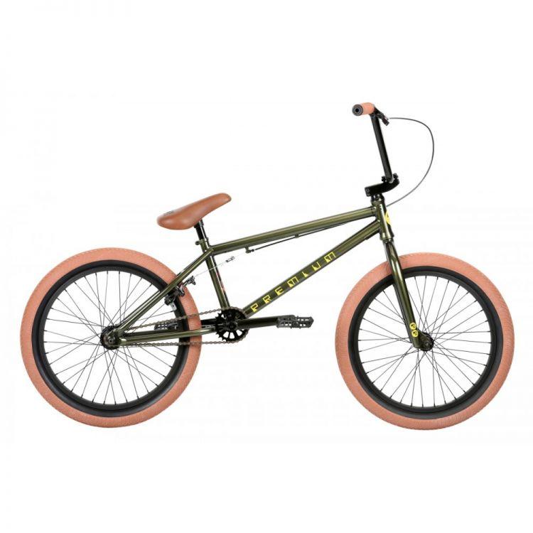 """Велосипед 20"""" Premium Inspired 20.5"""" 2019 Gloss Olive"""