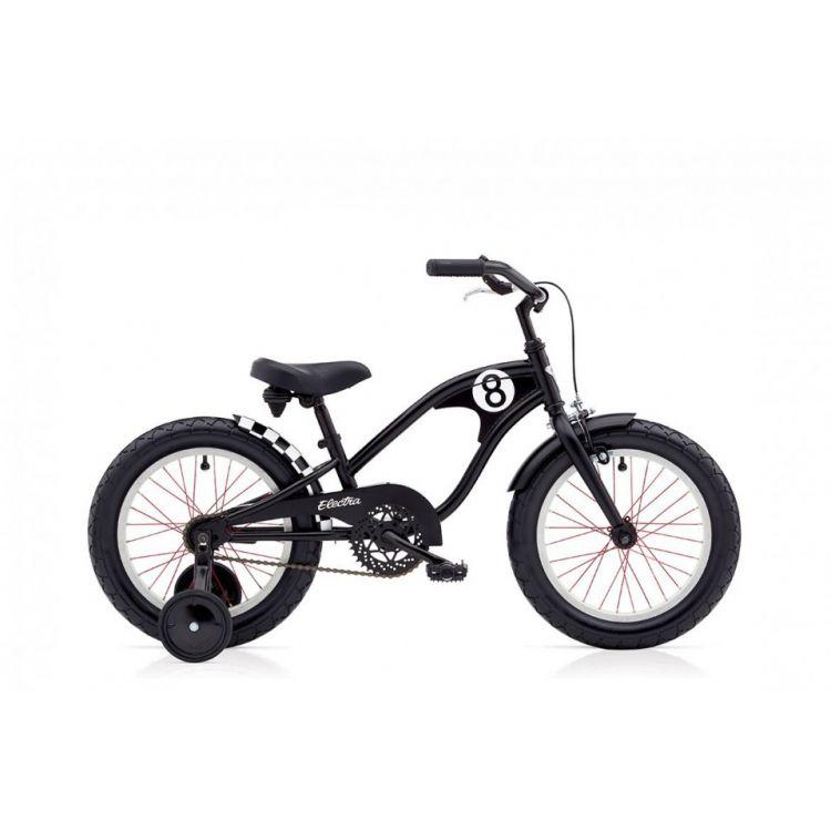 "Велосипед 16"" ELECTRA Straight 8 1 Boy's Matte black"