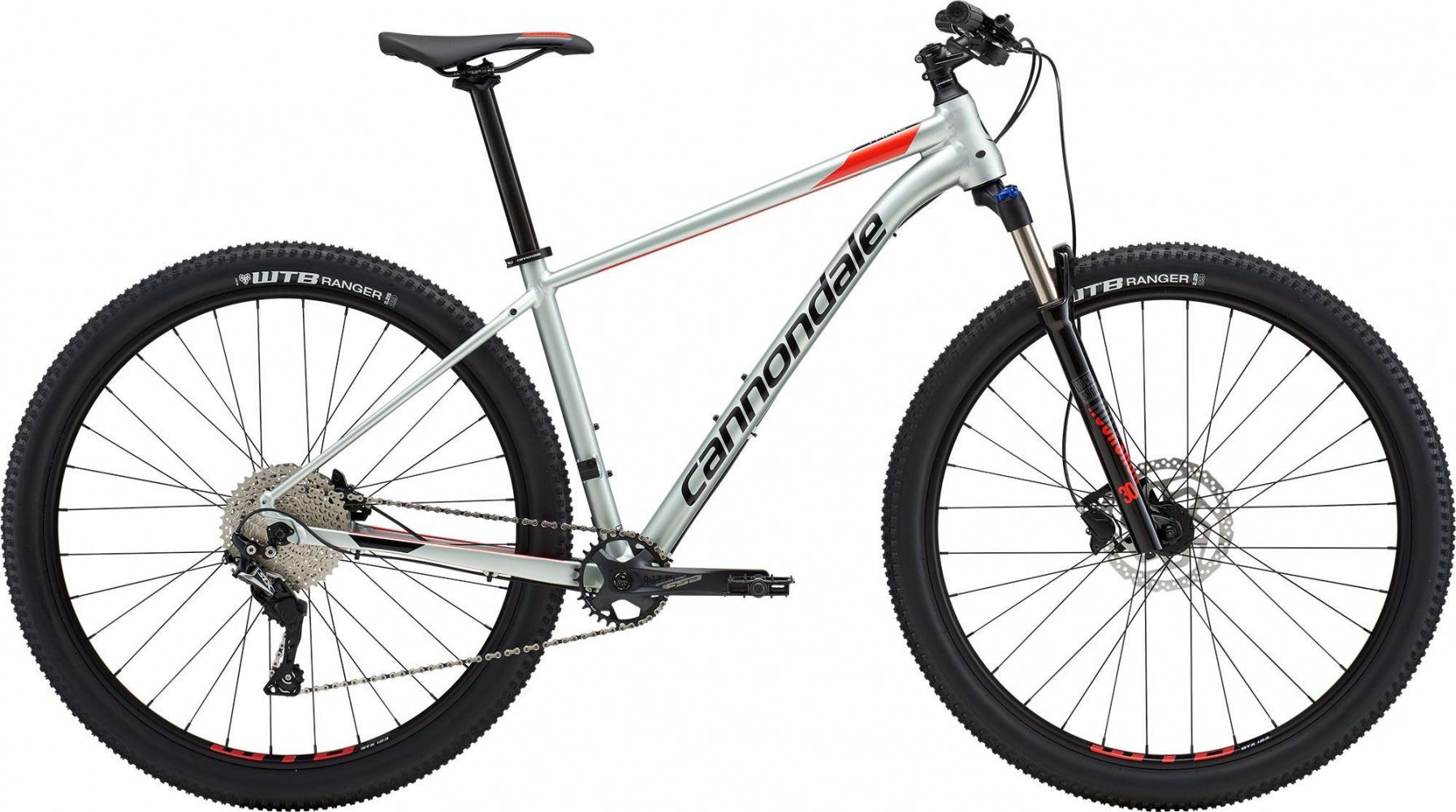 "Велосипед 27,5"" Cannondale Trail 4 2019 Grey"