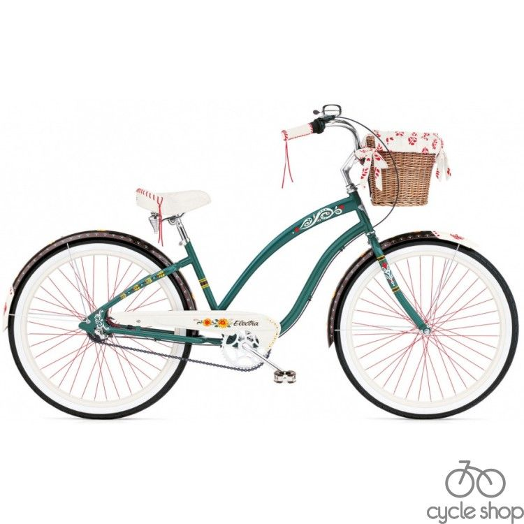 "Велосипед 26"" ELECTRA Gypsy 3i Ladie forest green"