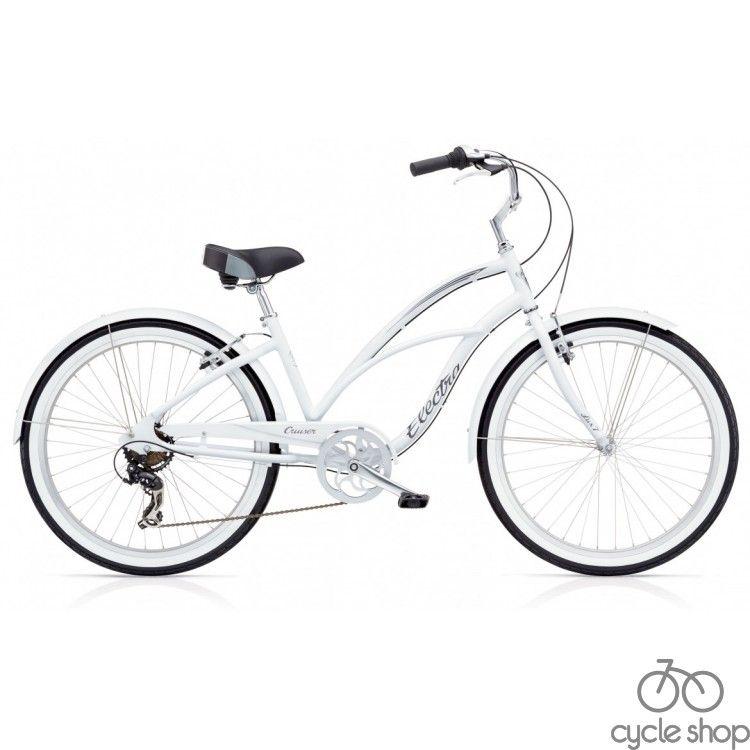 """Велосипед 26"""" ELECTRA Cruiser Lux 7D Ladie's White"""