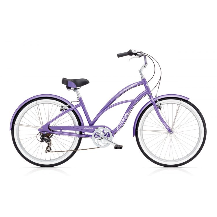 """Велосипед 26"""" ELECTRA Cruiser Lux 7D Ladie's Purple Metallic"""