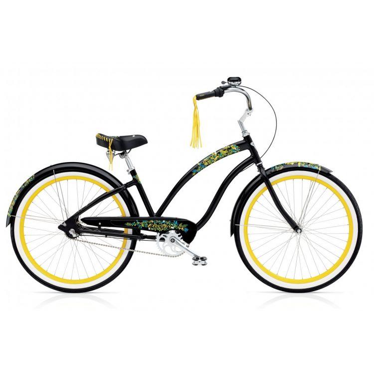 "Велосипед 26"" ELECTRA Flora & Fauna 3i black ladie's"