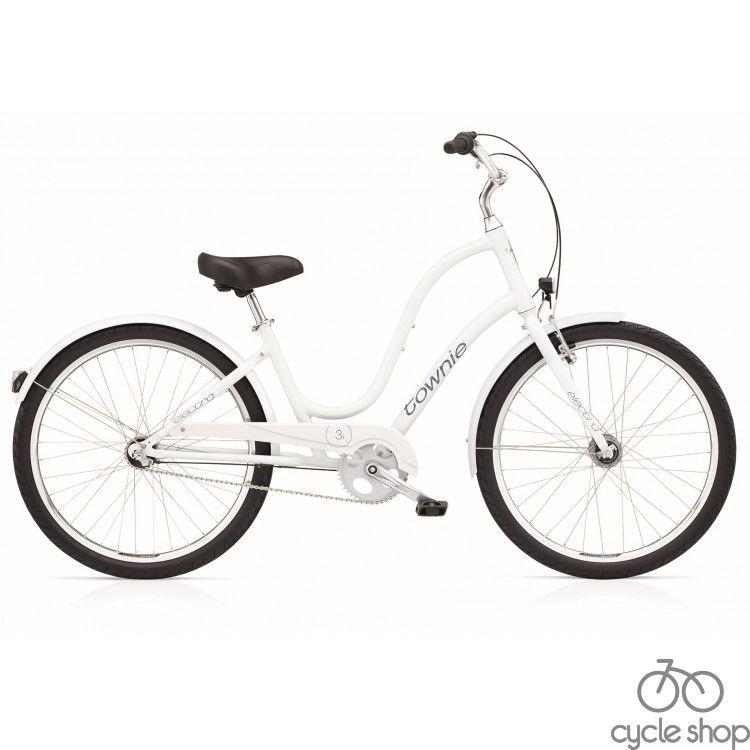 """Велосипед 26"""" ELECTRA Townie Original 3i Ladie's White"""