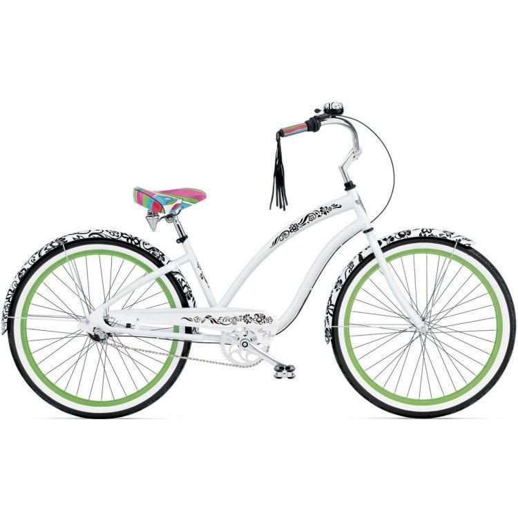 """Велосипед 26"""" ELECTRA Blanc et Noir 3i Ladie's White"""