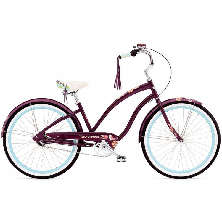 """Велосипед 26"""" ELECTRA Wren 3i Ladie's aubergine"""