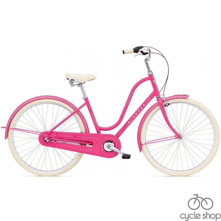 "Велосипед 28"" ELECTRA Amsterdam Original 3i Al deep pink ladie's"