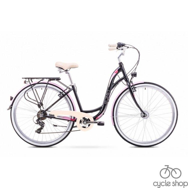"""Велосипед 28"""" ROMET SONATA Black 2018"""
