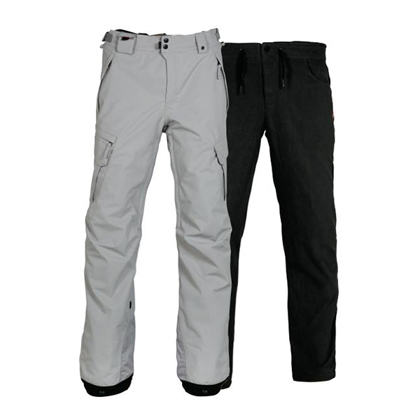 Штаны 686 Smarty Cargo Pant 17/18 Lt Grey