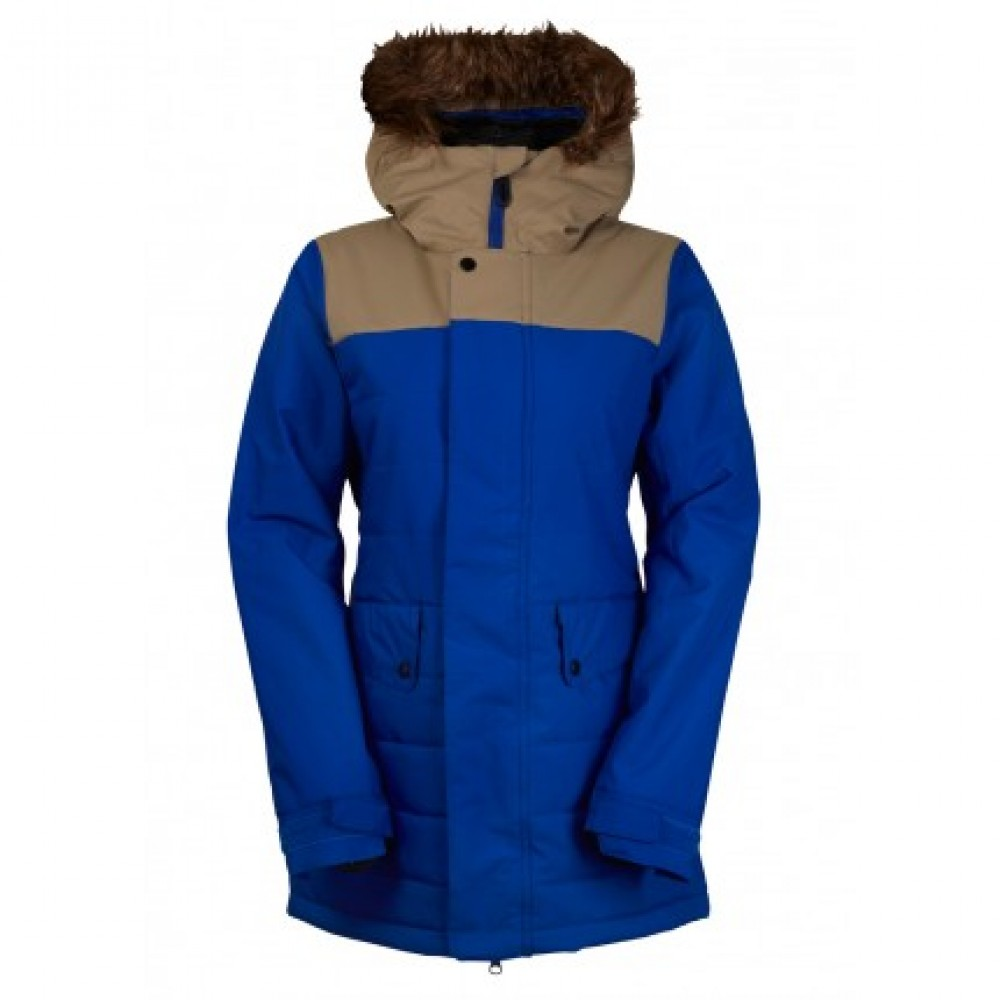 Куртка женская 686 Authentic Runway Infiloft Jacket Cobalt Colorblock