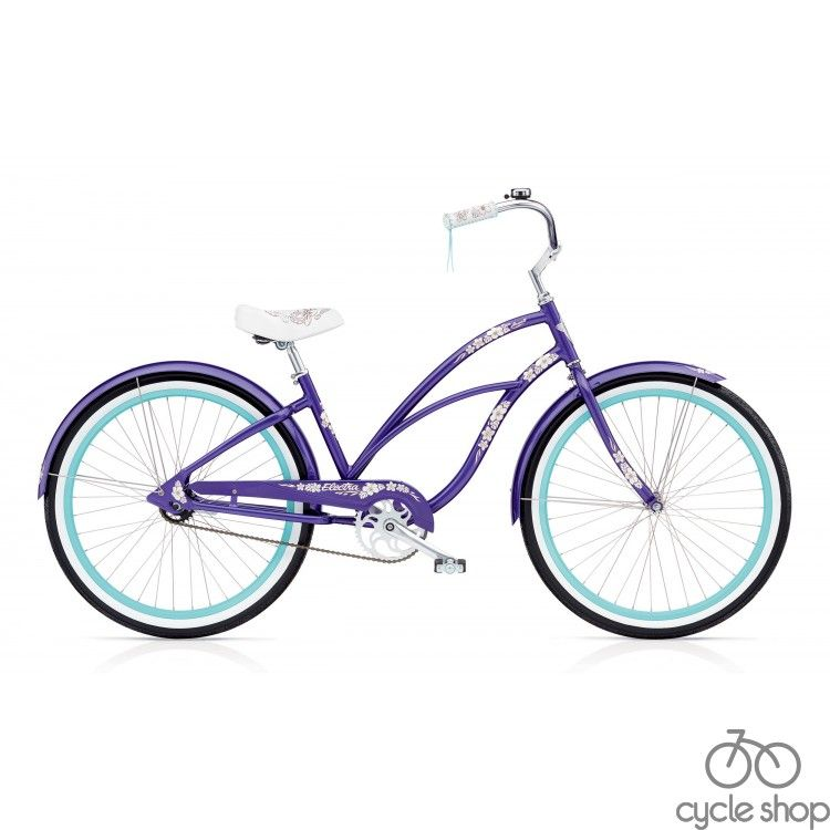 "Велосипед 24"" ELECTRA Hawaii 3i Ladie purple metallic"