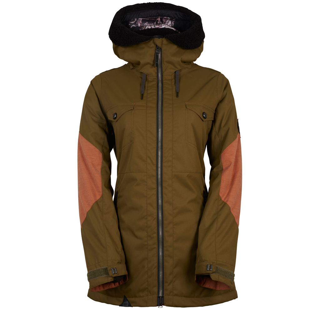 Куртка женская 686 Parklan Fortune Insulated Jacket Olive