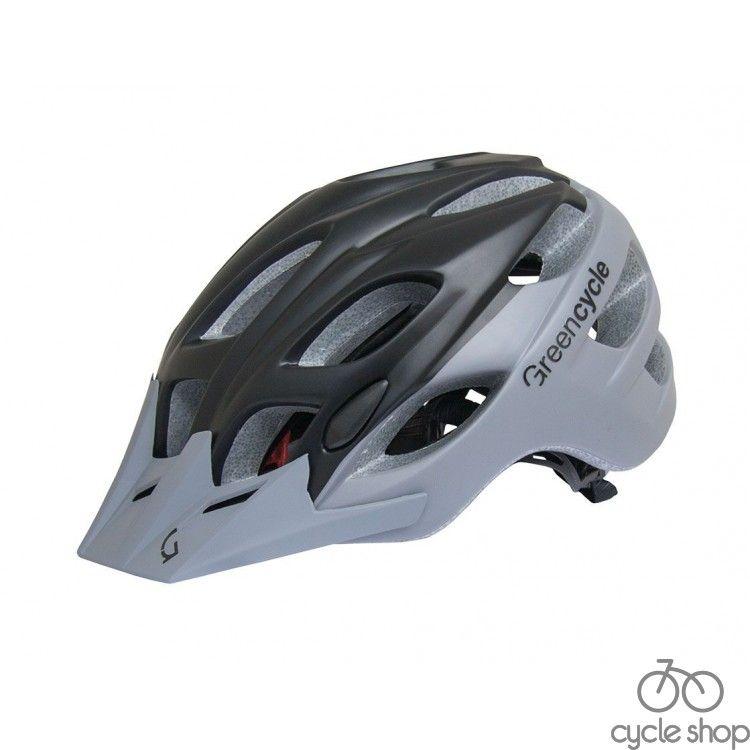 Шлем Green Cycle Enduro черно-серый