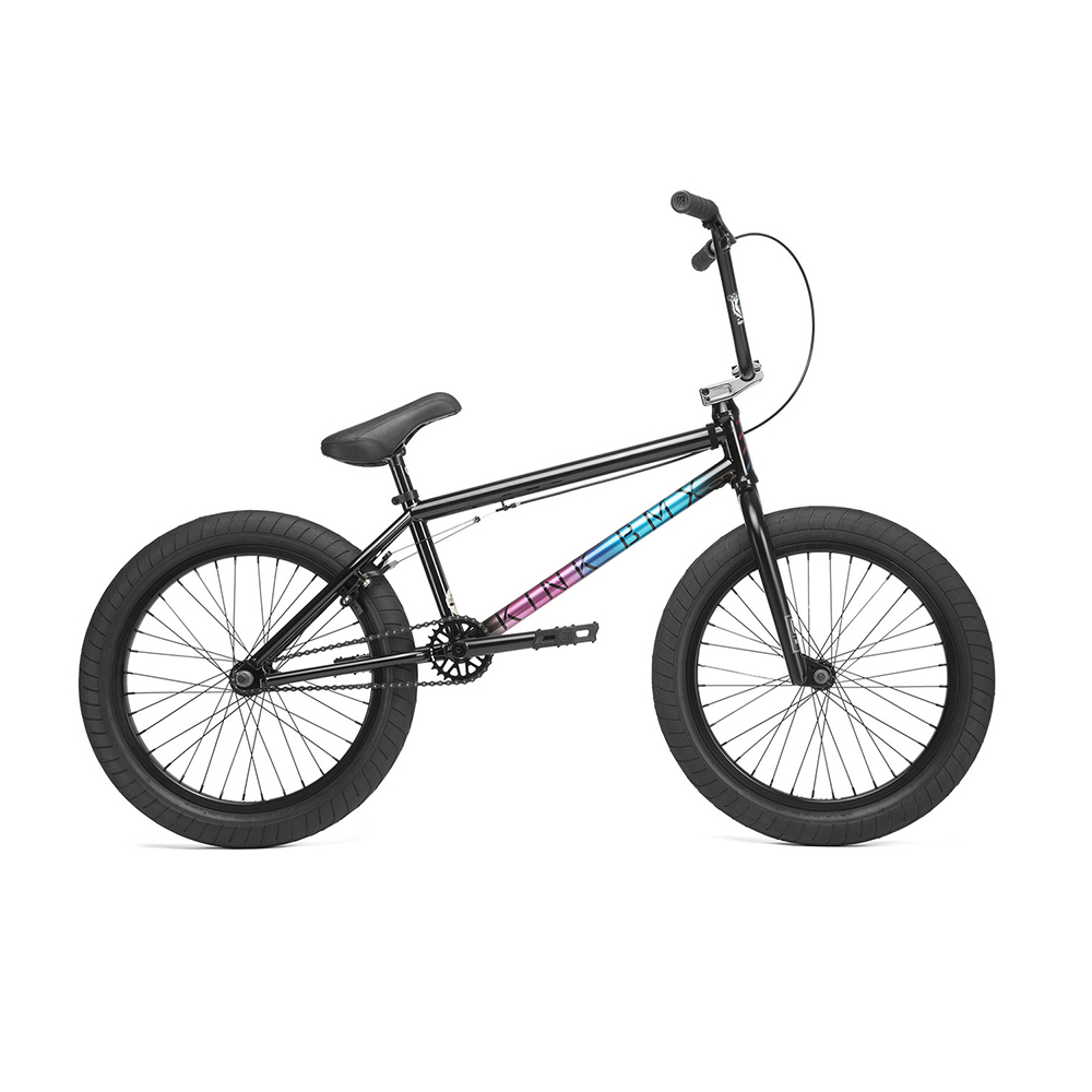 "Велосипед 20"" Kink Whip 2019 Black 20.5"""