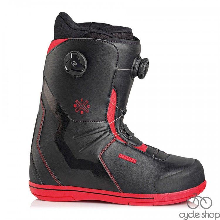Ботинки DEELUXE IDxHC Boa Focus TF 19/20 Black/Red