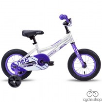 """Велосипед 12"""" Apollo Neo girls фиолетовый / белый 2019"""