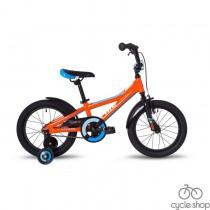 """Велосипед 16"""" Pride Tiger оранжево-голубой 2018"""