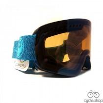 Маска Dragon NFXs Mill / Lumalens Flash Blue + Lumalens Amber 17/18