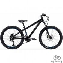 "Велосипед 24"" Apollo Aspire 24 2019 Matte Black / Matte Charcoal / Matte Blue"