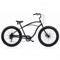 "Велосипед 26"" ELECTRA Cruiser Lux Fat Tire 7D Men's Matte Black"