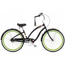 "Велосипед 26"" ELECTRA Sugar Skulls 3i (Alloy) Ladie black"