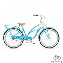 """Велосипед 26"""" ELECTRA Super Deluxe 3i Ladie's Aqua/Cream"""