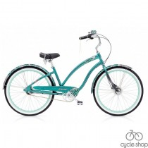 "Велосипед 26"" Electra White Water 3i 2019 Green Metallic"