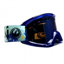 Маска Dragon DX 20/21 Lightice / Lumalens Blue Ionized