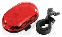 Фонарь светодиодн задн +батар. INFINI I-401 5 светодиодов, 4 реж, крепл.