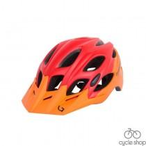 Шлем Green Cycle Enduro оранжево-красный матовый