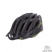 Шлем Green Cycle New Rock черно-желтый матовый