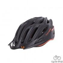 Шлем Green Cycle New Rock черно-оранжевый матовый