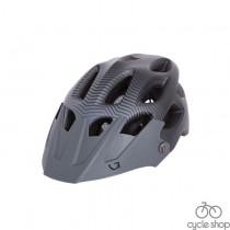 Шлем Green Cycle Slash черно-серый матовый