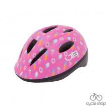 Шлем детский Green Cycle Sweet малиновый / розовый лак