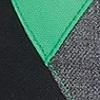 Grey Melange Colorblock